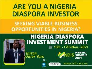 Nigeria Diaspora Investment Summit @ Zoom
